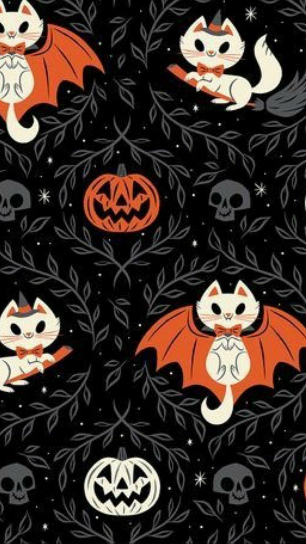 Vintage Halloween Wallpapers - Wallpaper Cave