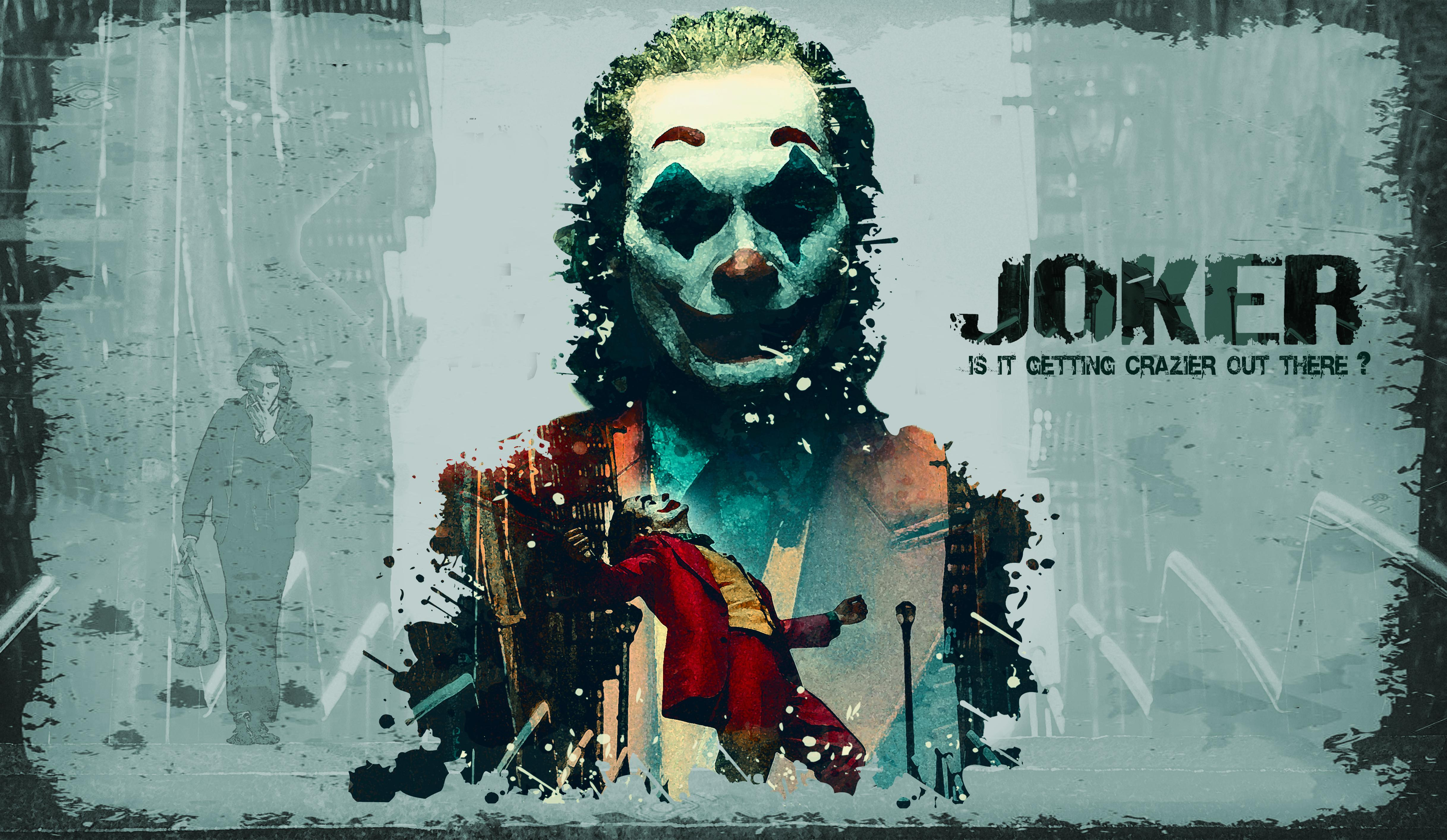 Joker 2019 Movie Wallpaper, HD Movies 4K Wallpapers, Image
