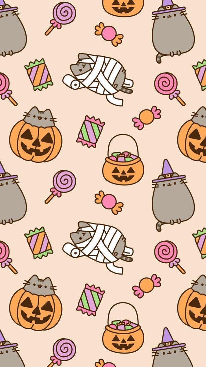 Pusheen Halloween Wallpapers - Wallpaper Cave