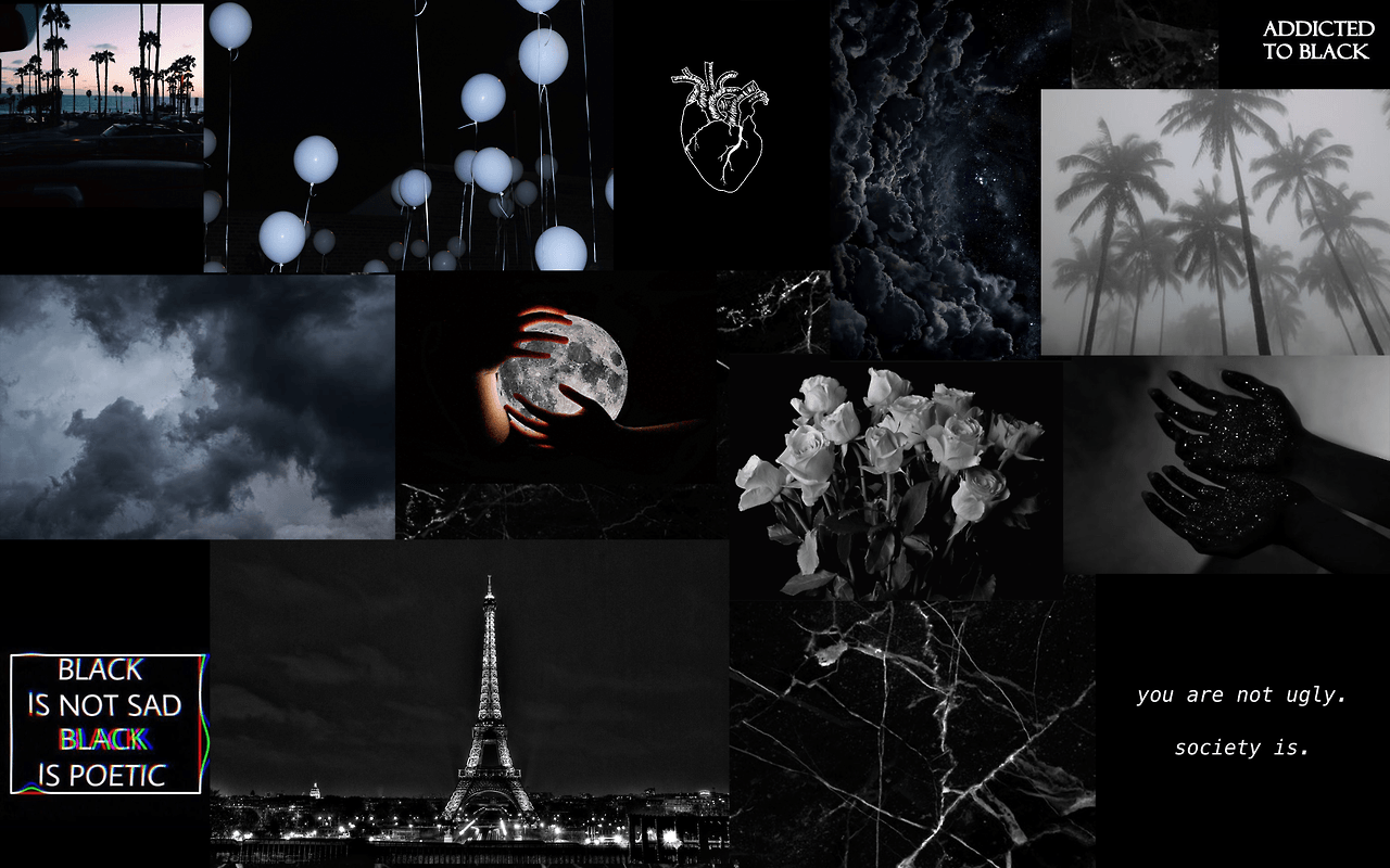 Black Aesthetic For Laptop Wallpapers Wallpaper Cave