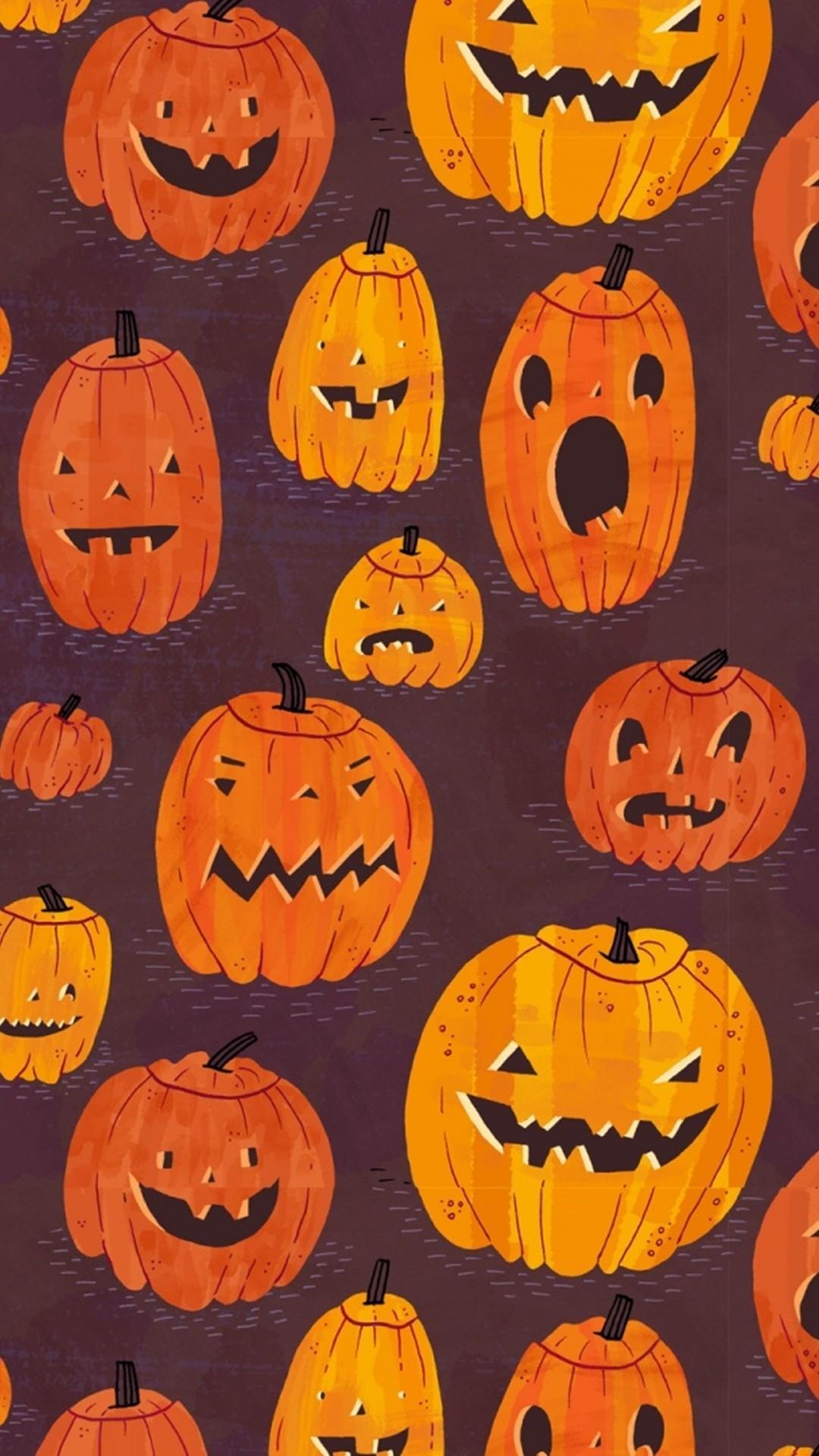 Cute Halloween iPhone Wallpapers