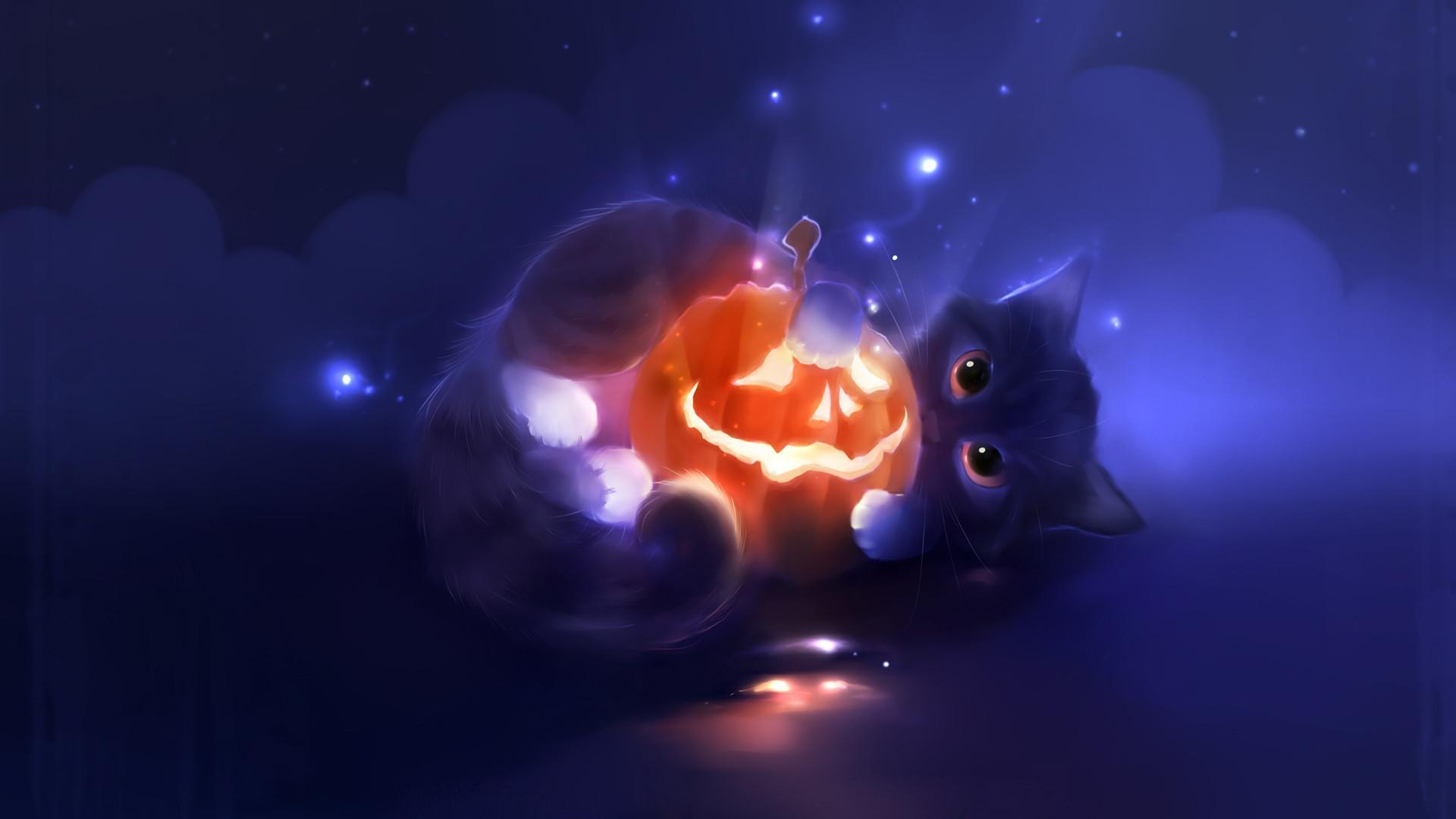 Cute Cat Halloween Wallpapers