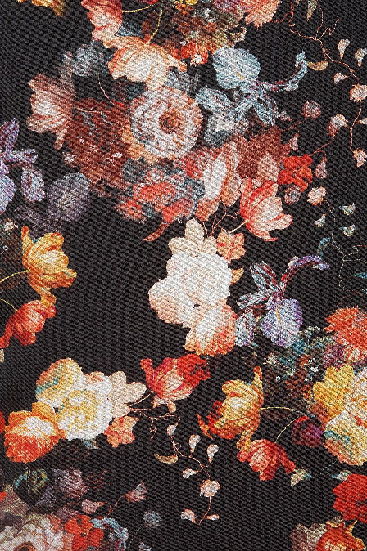 Iphone Wallpaper Floral Black