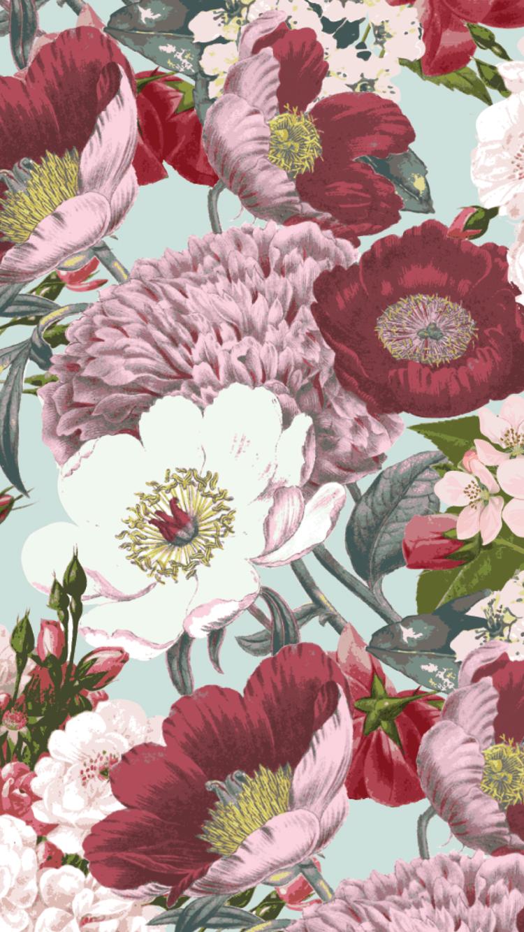 Vintage Rose iPhone Wallpapers