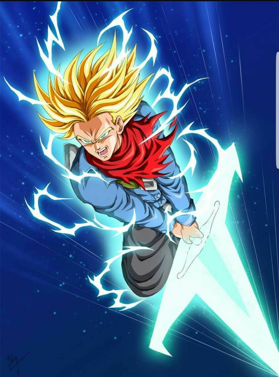 Future Trunks Mobile Wallpapers Wallpaper Cave
