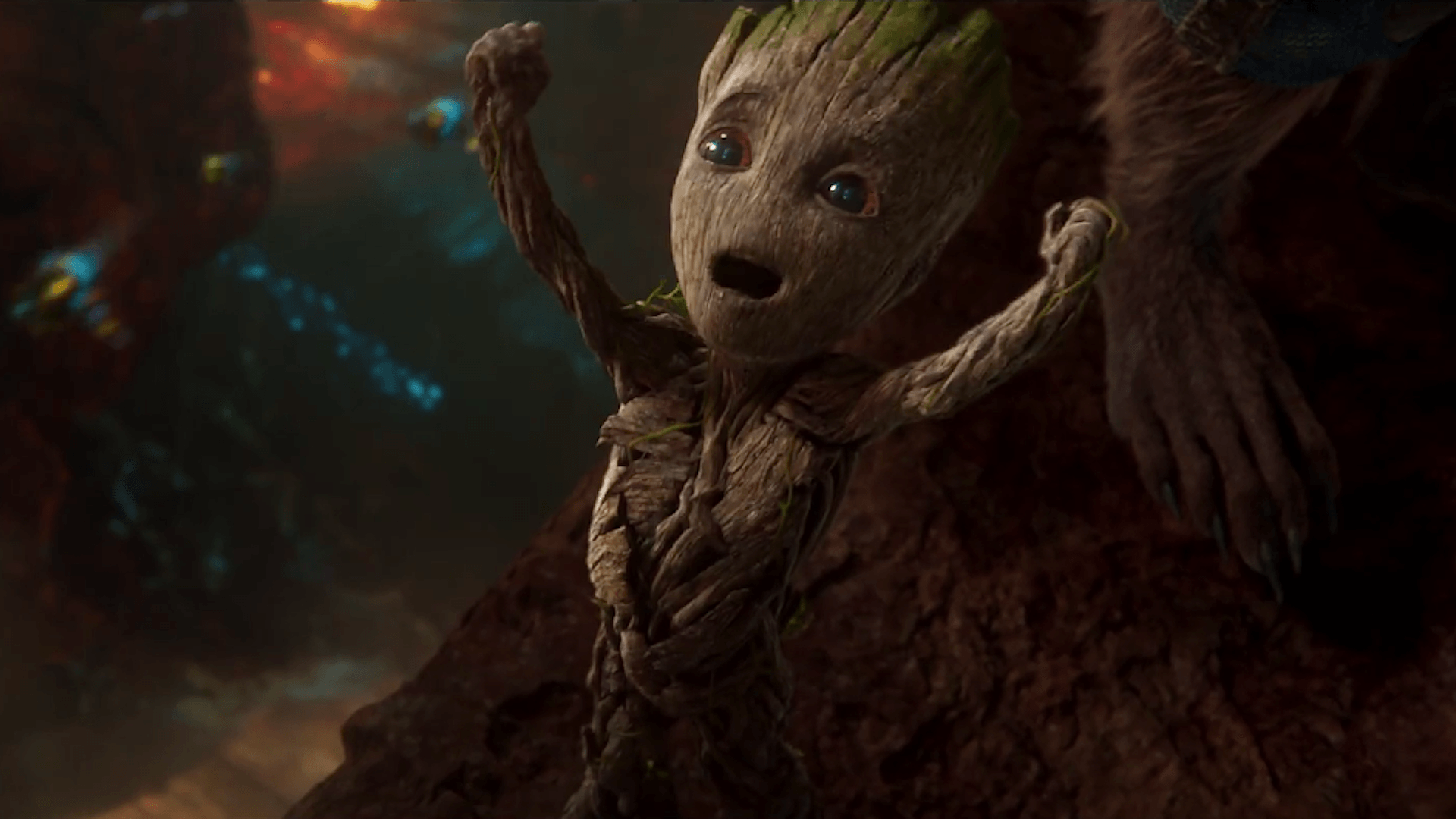 Groot And Rocket Wallpapers Wallpaper Cave
