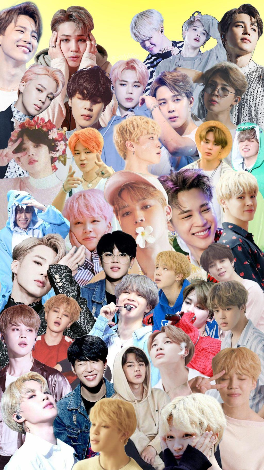 Bts Collage Wallpapers Wallpaper Cave