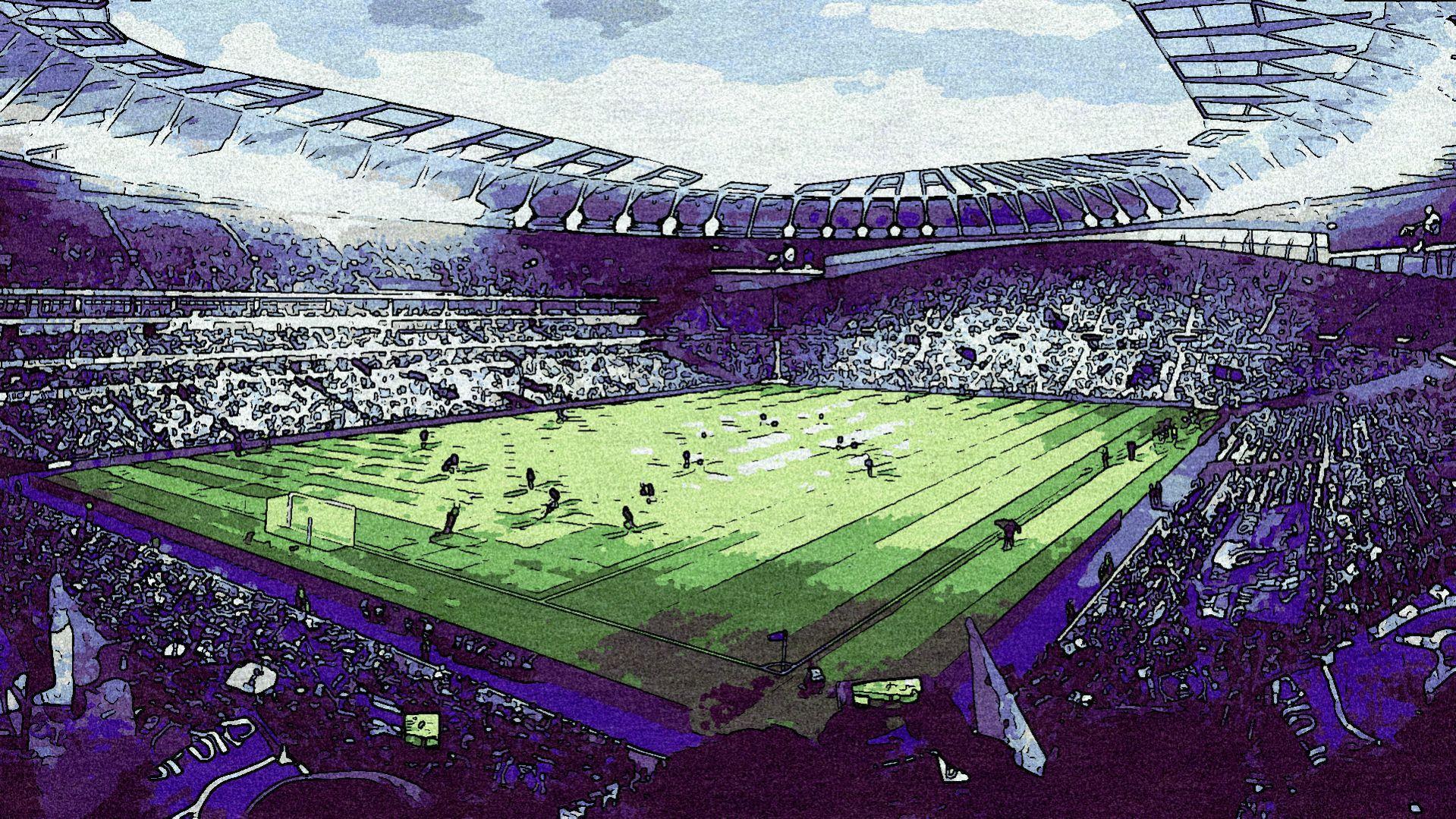 Tottenham Hotspur Stadium Wallpapers Wallpaper Cave