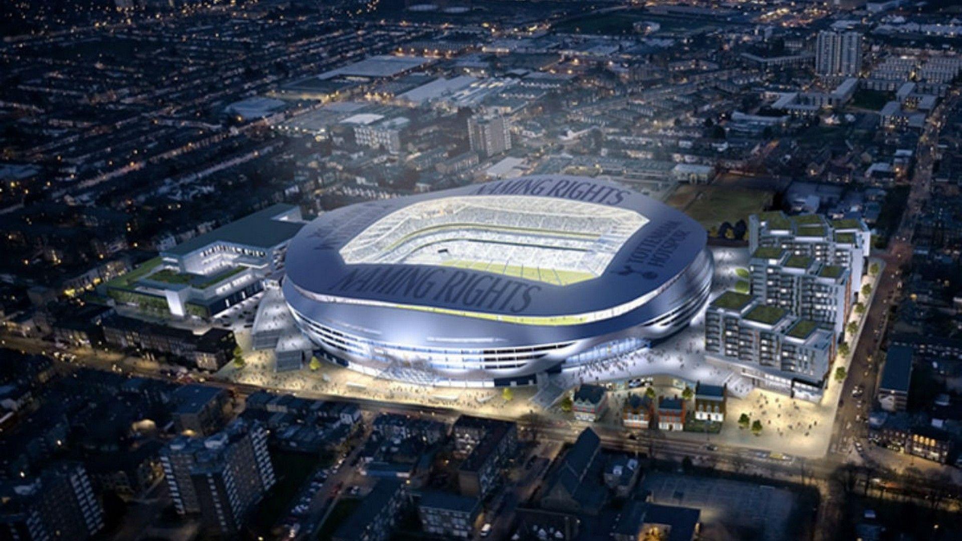 Tottenham Hotspur Stadium Desktop Wallpapers Wallpaper Cave