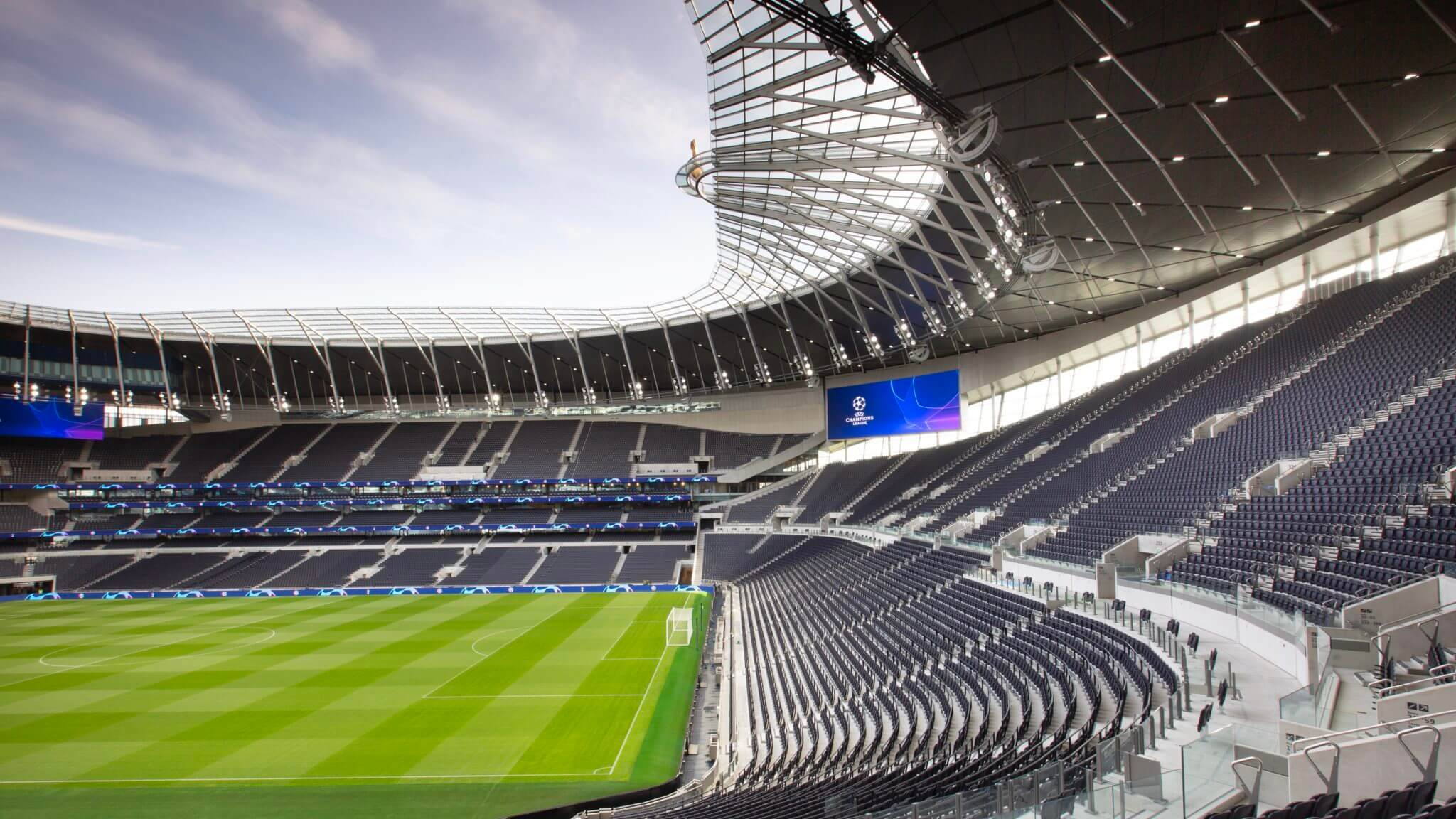 Tottenham Hotspur Stadium Hd Wallpaper Hd Football