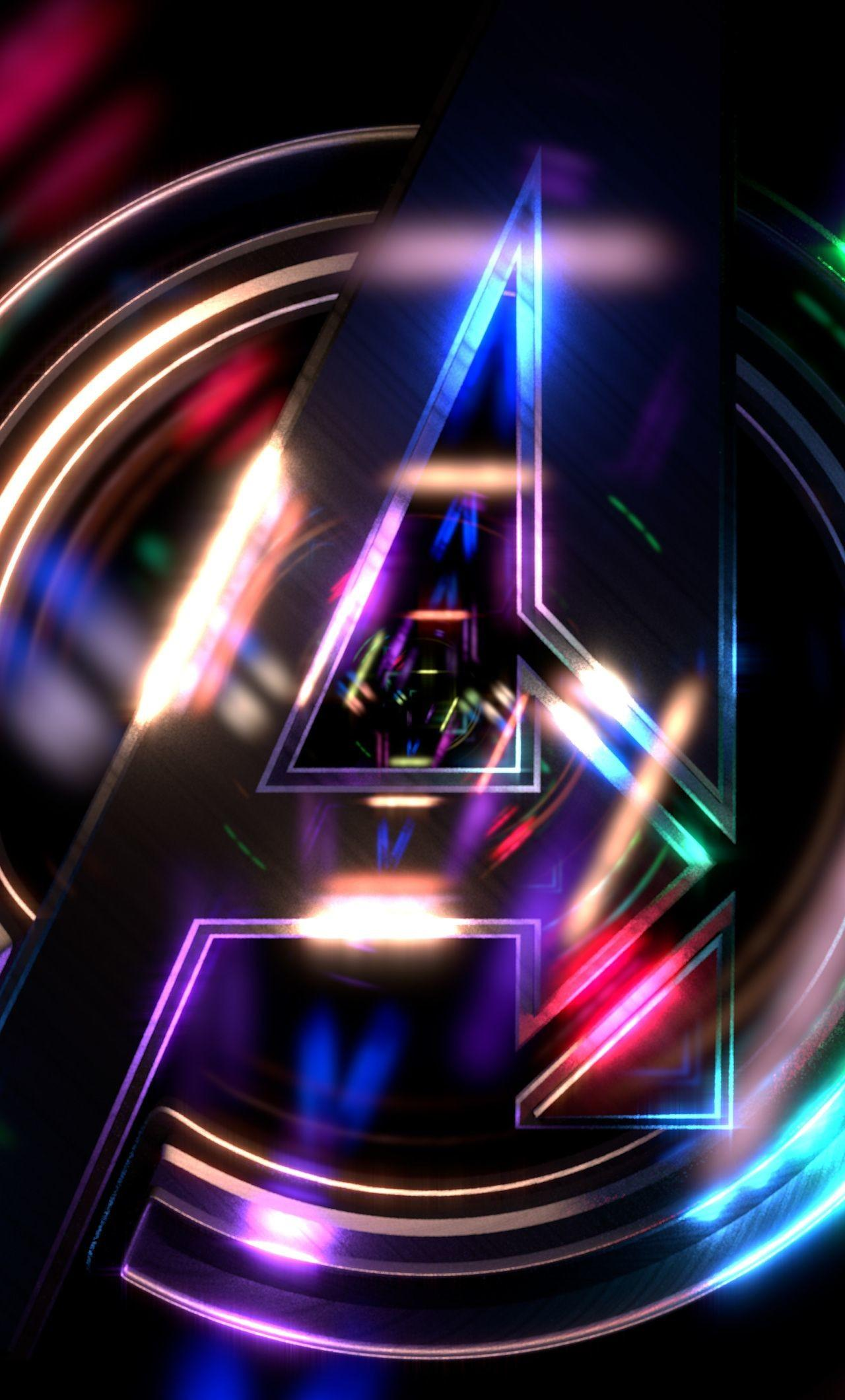 Hd Avengers Logo Phone Wallpapers Wallpaper Cave