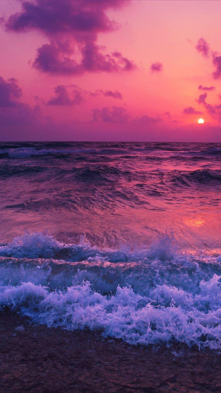 Pink Sunset Wallpapers Wallpaper Cave