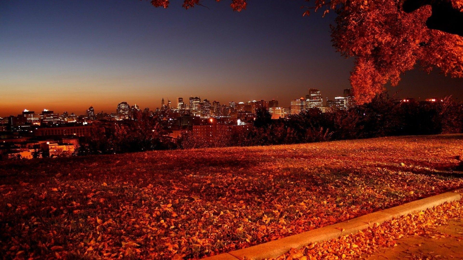 Autumn Night Wallpapers Wallpaper Cave