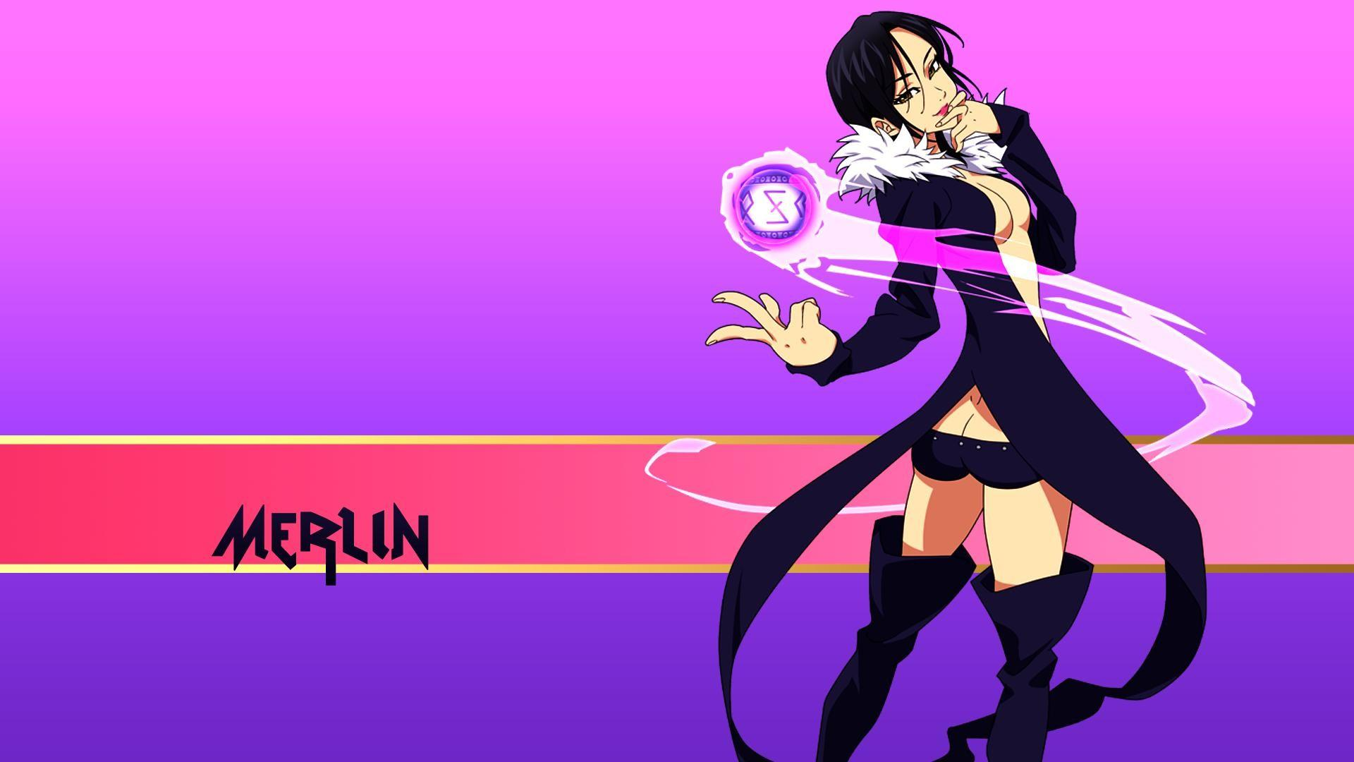Merlin Seven Deadly Sins Wallpapers Wallpaper Cave