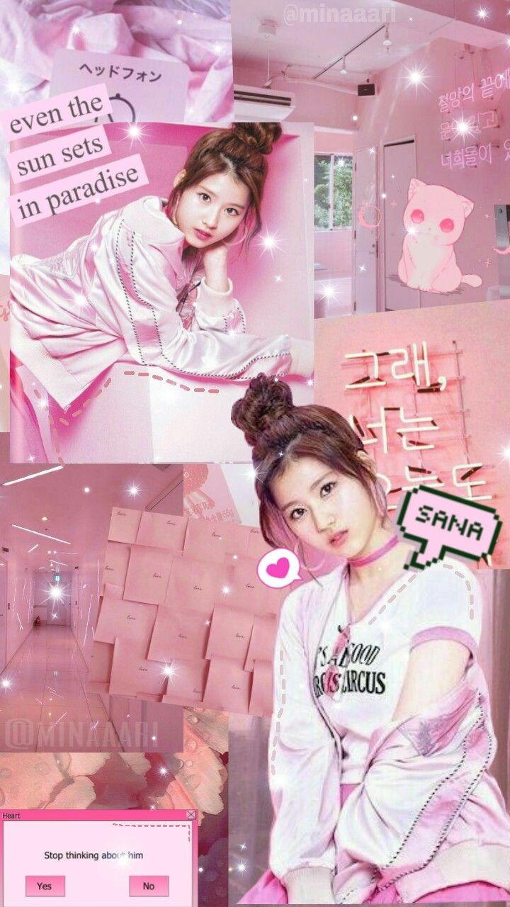Twice Pink Aesthetic Wallpapers Wallpaper Cave