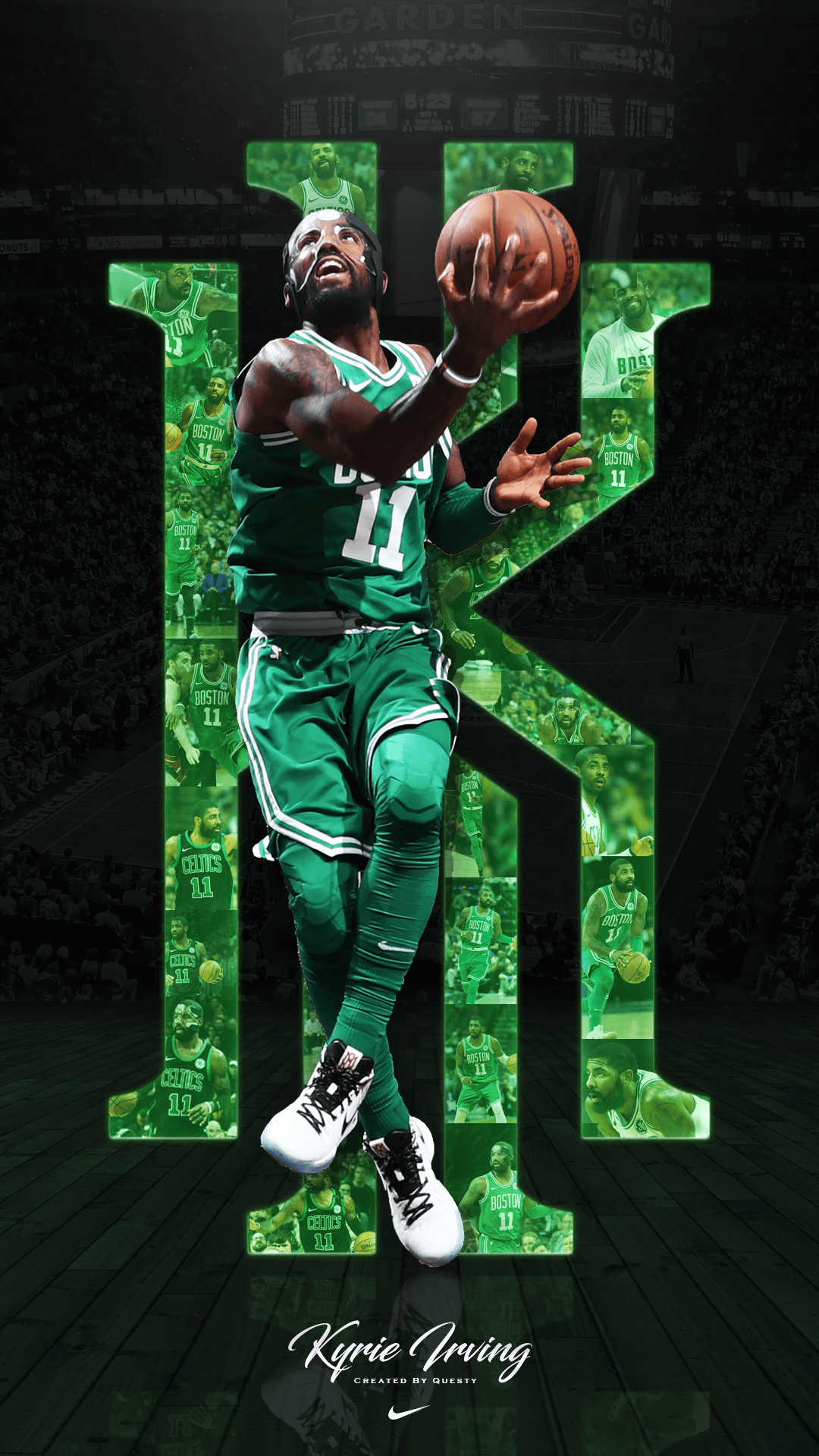Kyrie Irving Phone Wallpapers Wallpaper Cave