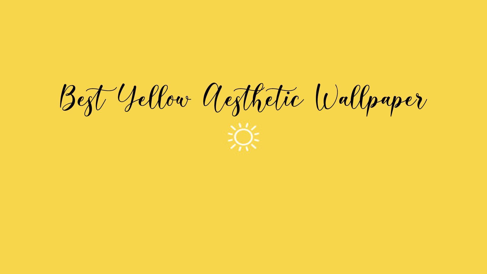 blue and yellow aesthetic wallpapers