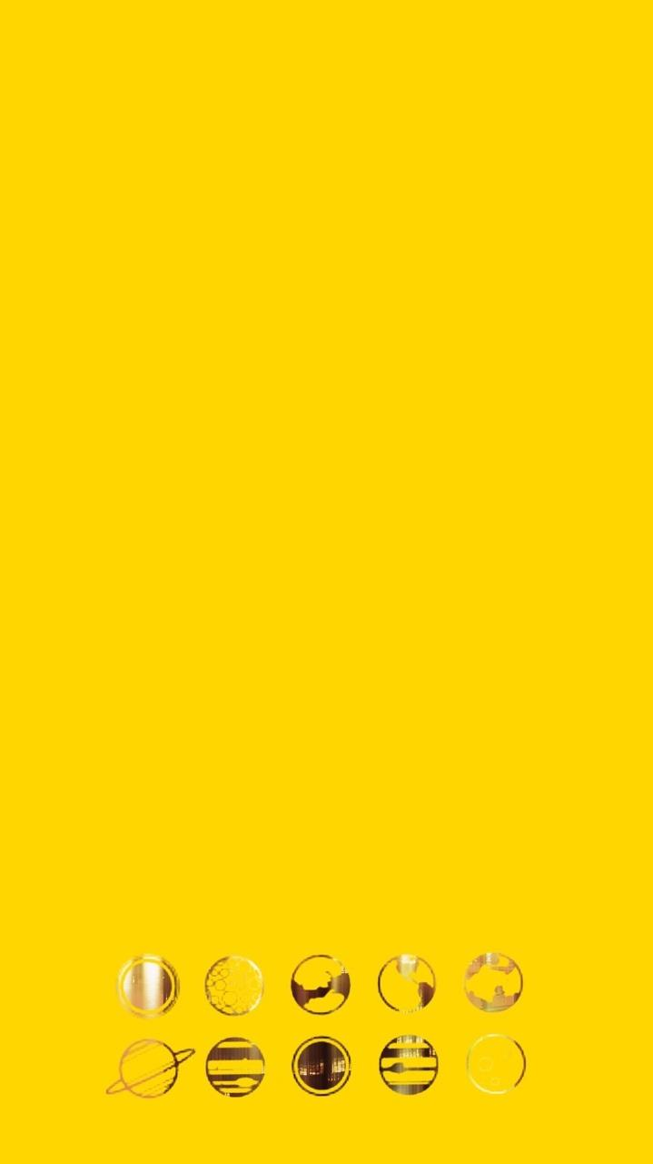 Yellow Aesthetic Phone Wallpapers Wallpaper Cave