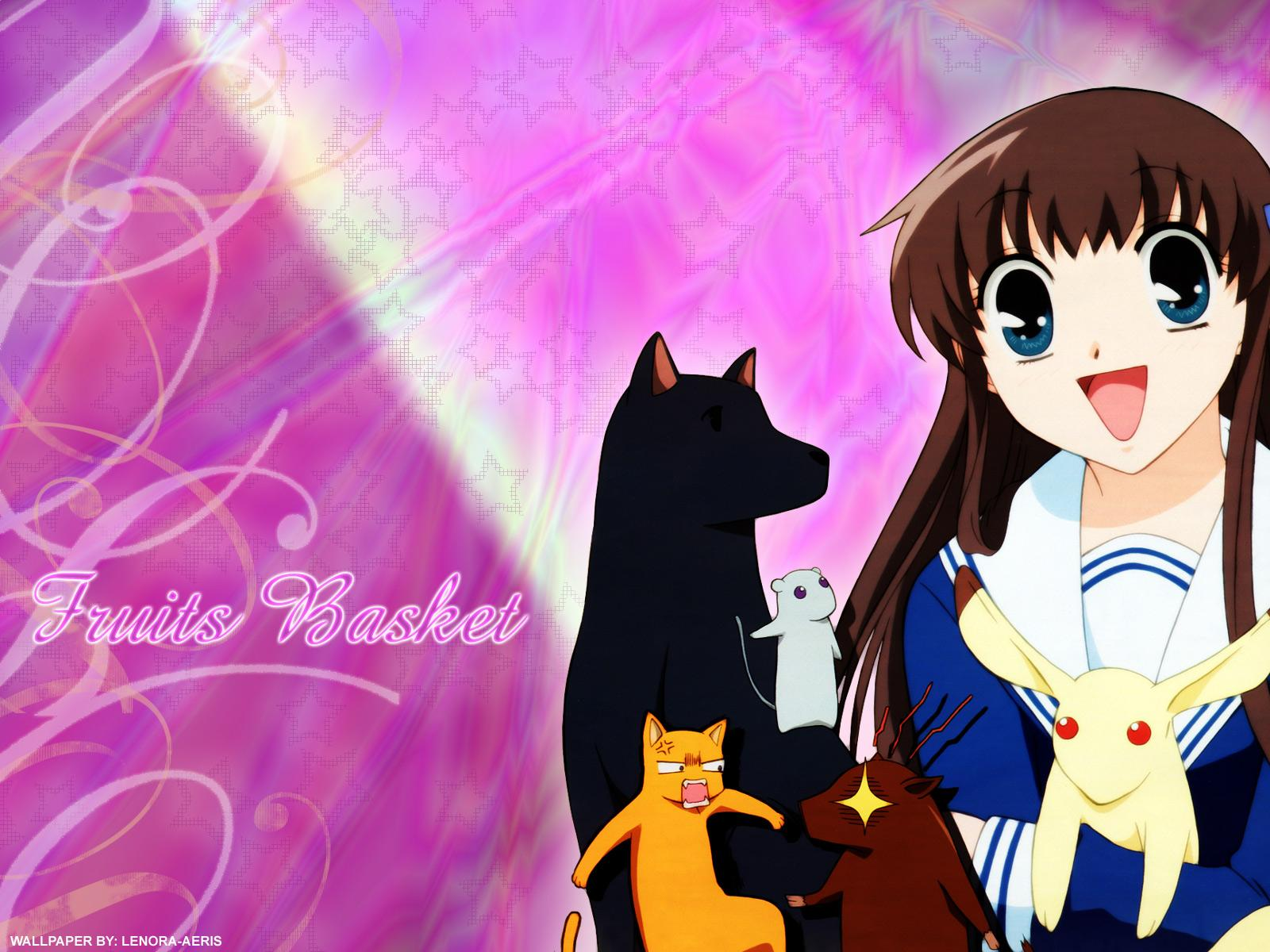 Fruits Basket Wallpapers 1600x1200,