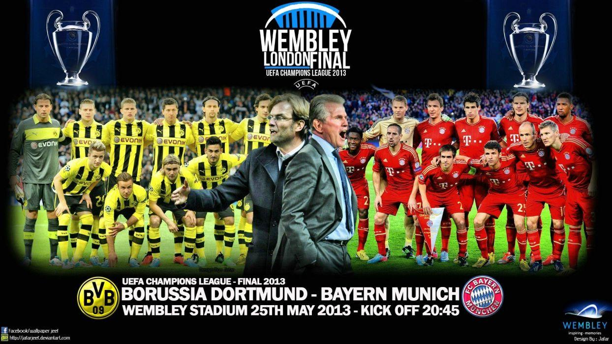 Bayern Munchen Vs Borussia Dortmund Wallpapers Wallpaper Cave