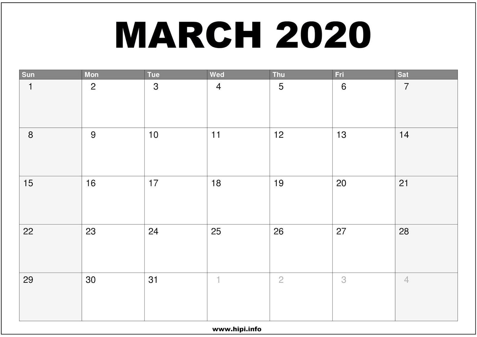 Wallpaper Cave March 2020 Calendar Wallpapers - Wallpaper Cave