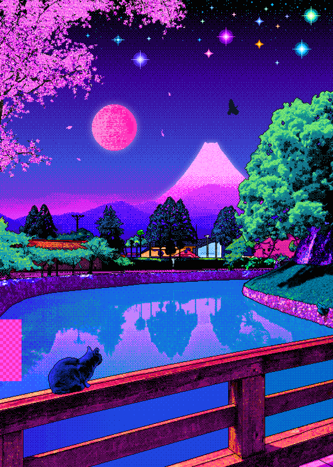 pixel aesthetic wallpapers