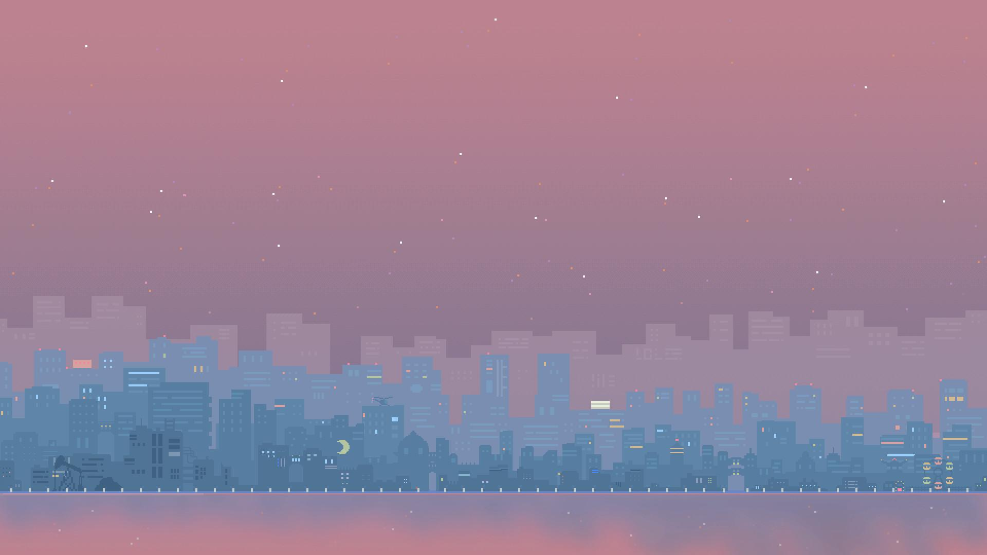 Animated Pixel Wallpapers