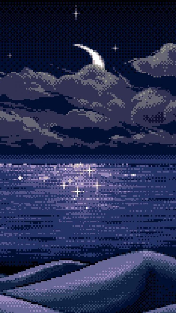 Pixel Art Aesthetic Wallpapers Wallpaper Cave