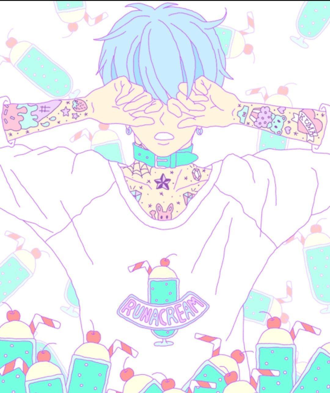 Kawaii Anime Aesthetic Wallpapers Wallpaper Cave