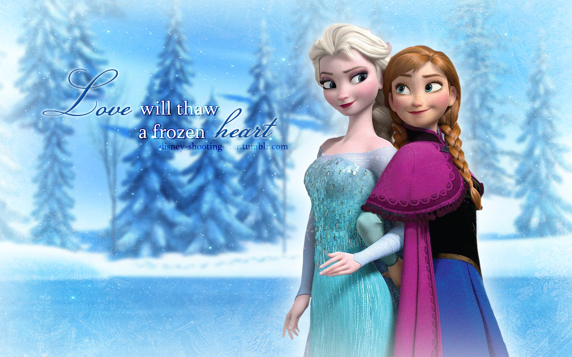 Frozen 2 The Snow Queen Elsa And Anna Wallpapers Wallpaper Cave