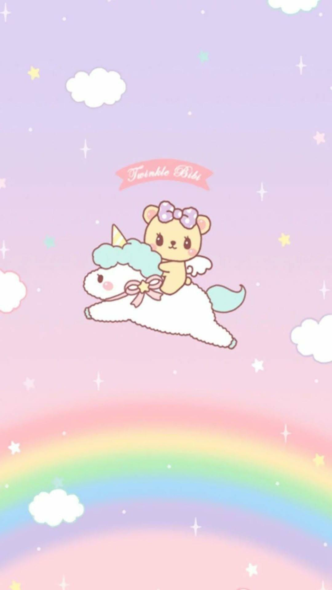 Kawaii Unicorn For Iphone Wallpapers Wallpaper Cave
