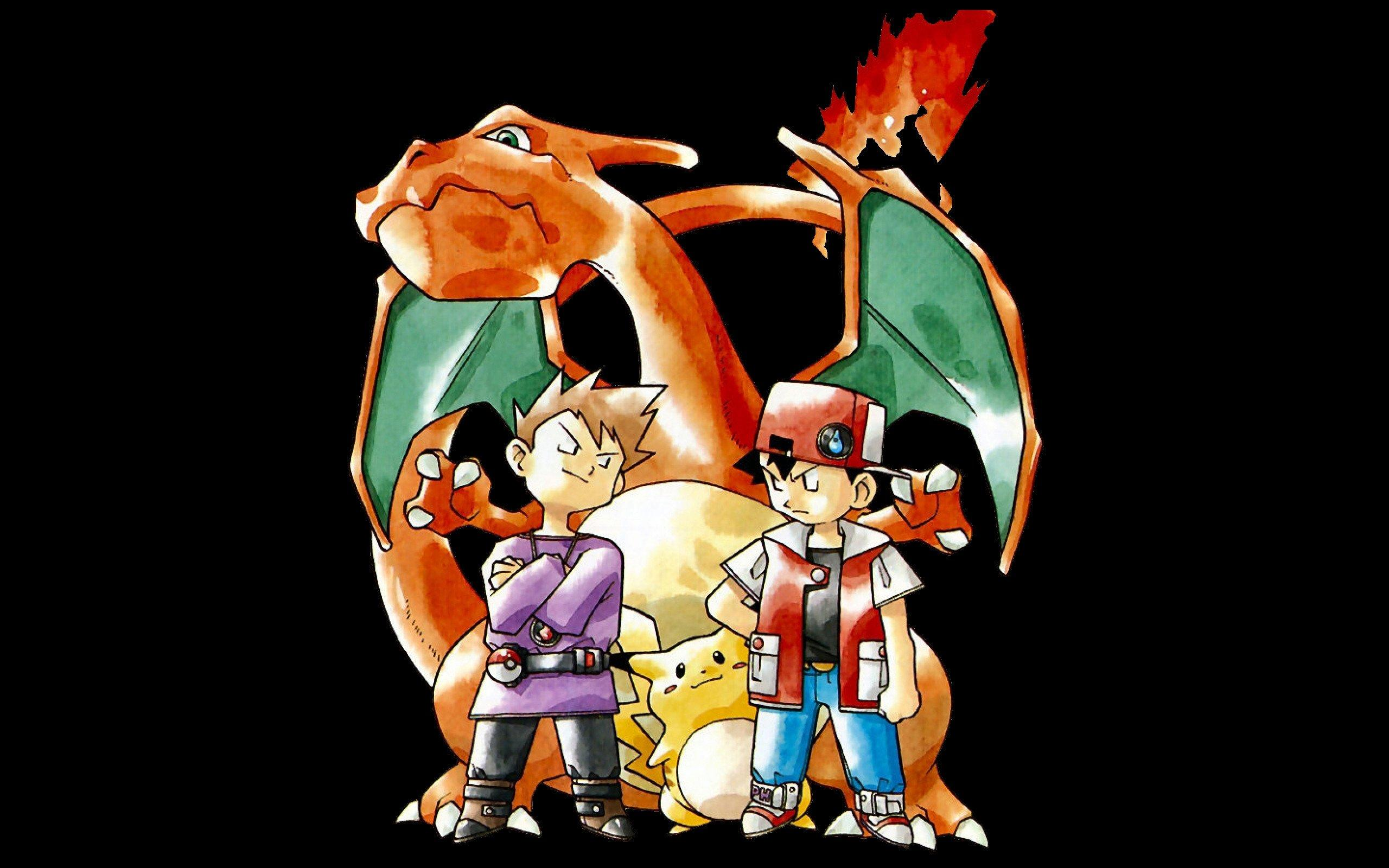 Pokemon Red And Blue Wallpapers Wallpaper Cave
