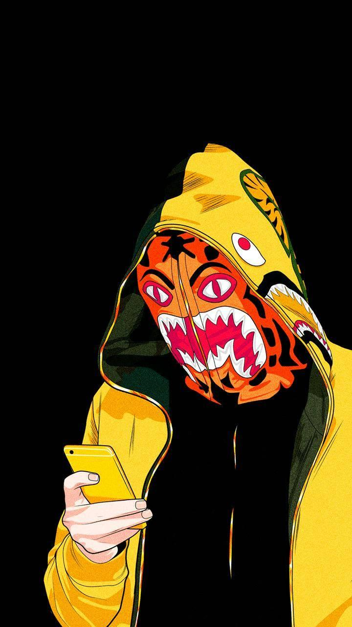 Bape Cartoon Wallpapers Wallpaper Cave