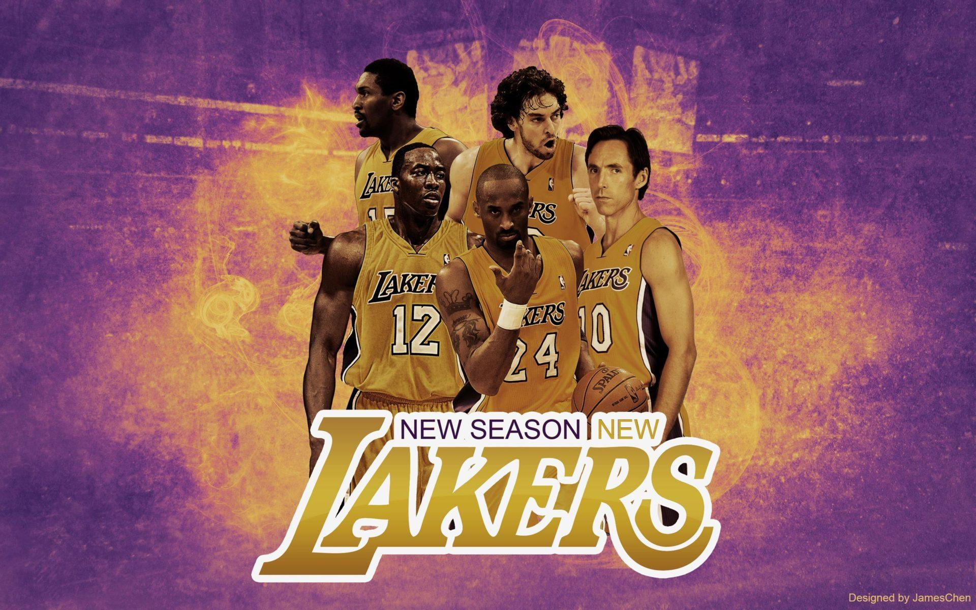 Lakers Team Wallpapers Wallpaper Cave