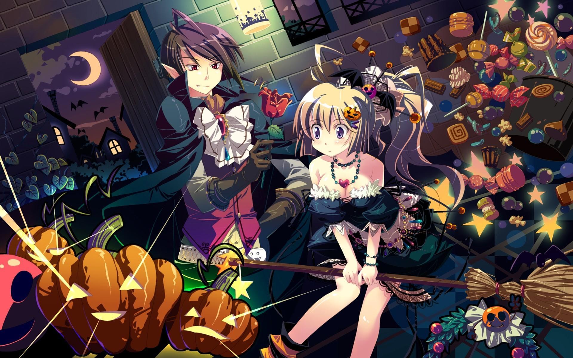 Anime Halloween Wallpapers