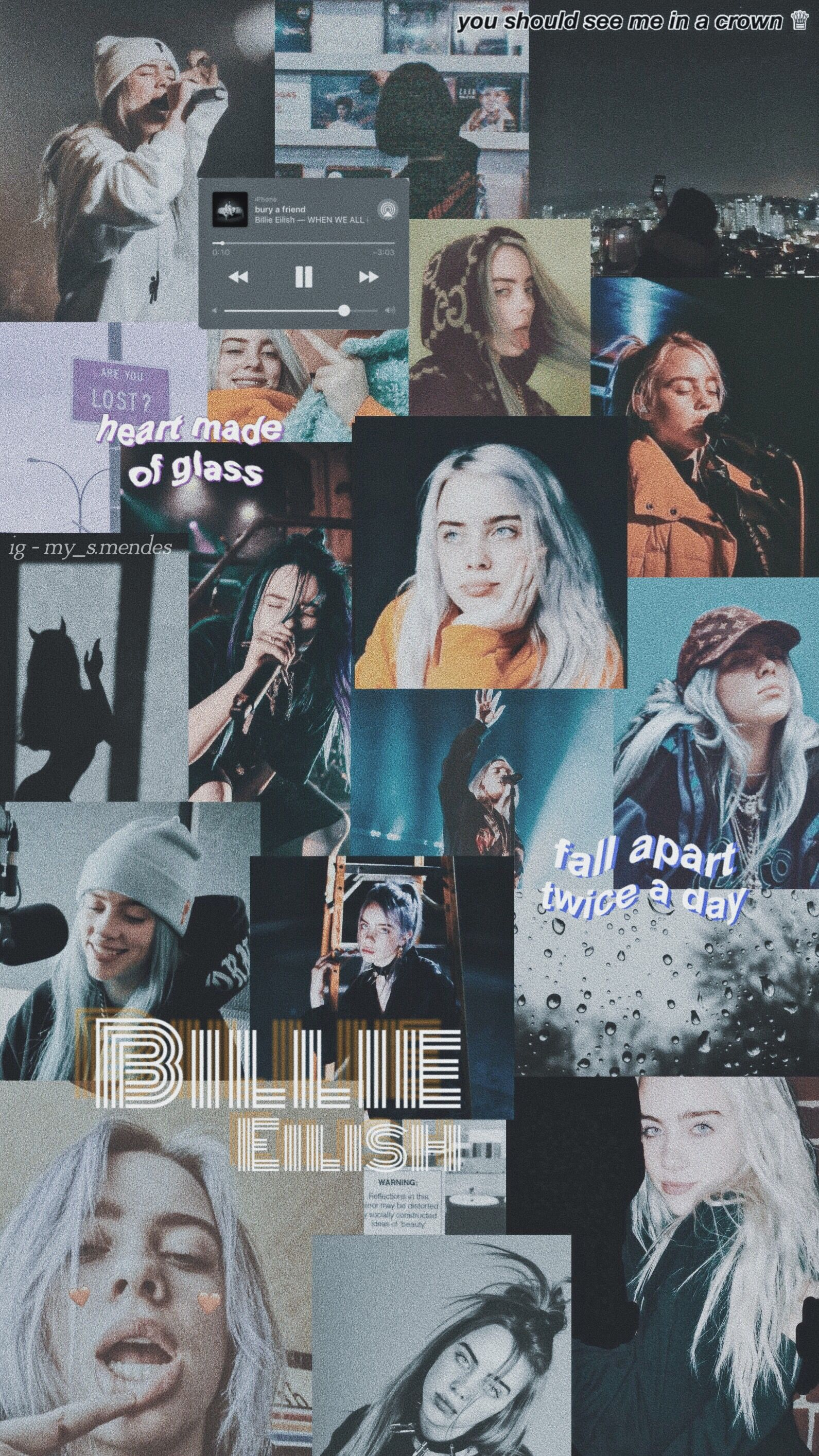 billie eilish aesthetic pictures wallpapers