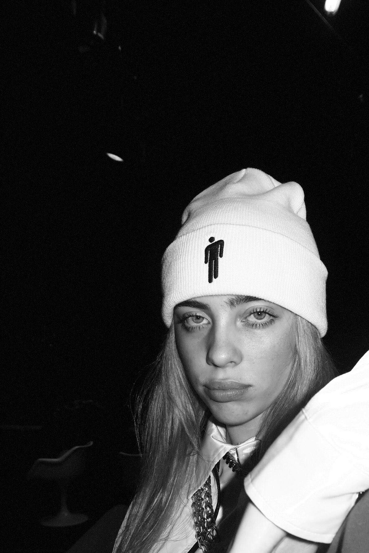 Billie Eilish Black And White Wallpapers Wallpaper Cave