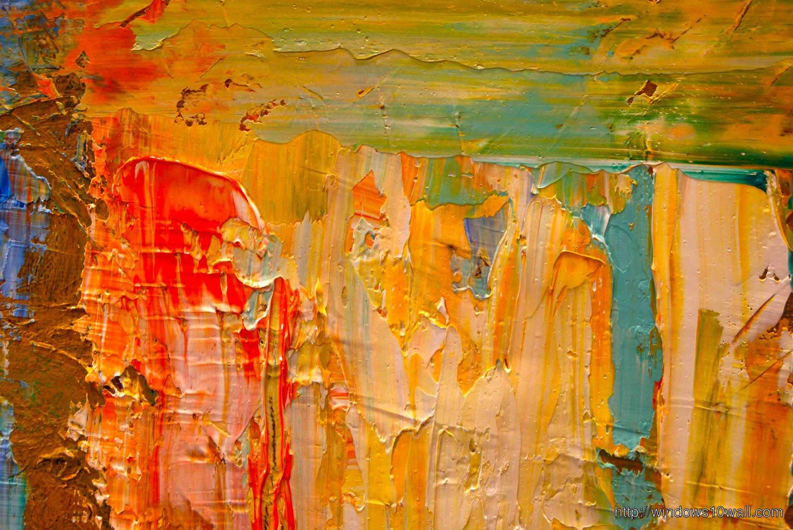 Abstract Expressionism Art Wallpaper