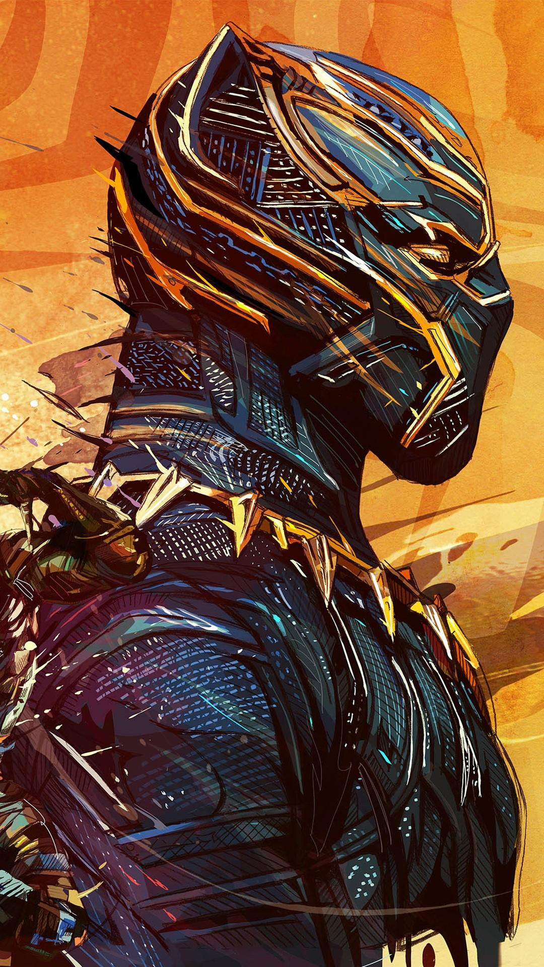 Black Panther Android Wallpapers Wallpaper Cave