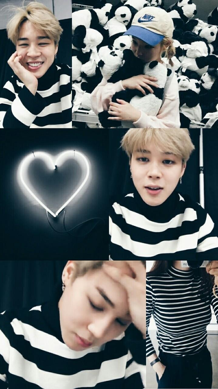 BTS Park Jimin Black and White Aesthetic Wallpapers