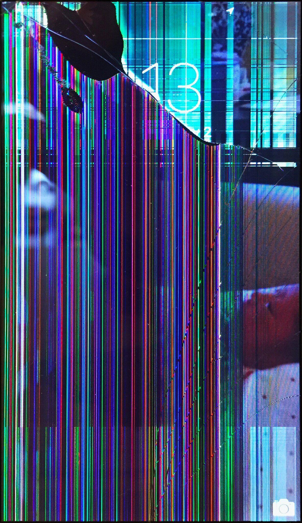 Glitch Screen Wallpapers Wallpaper Cave