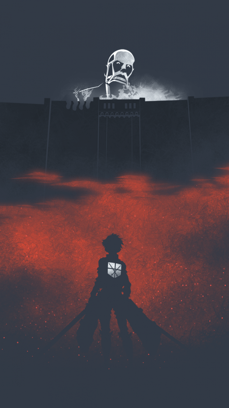 Attack On Titan Aesthetic Wallpapers Wallpaper Cave