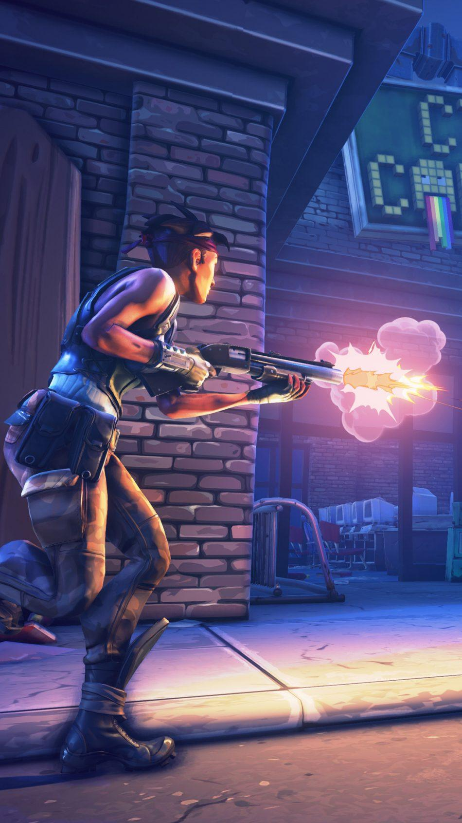 Fortnite Battle Royale Shooting Free 4K Ultra HD Mobile Wallpapers