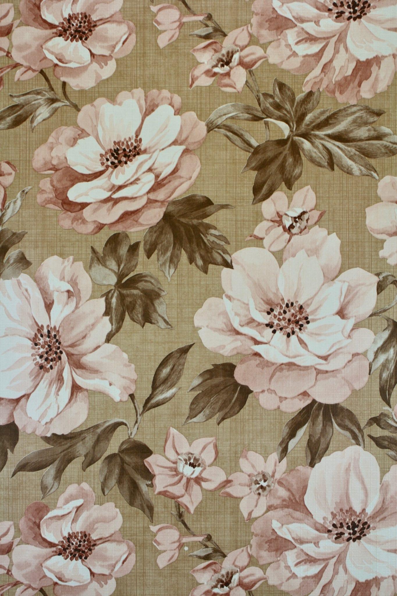 Vintage Floral Wallpapers - Wallpaper Cave