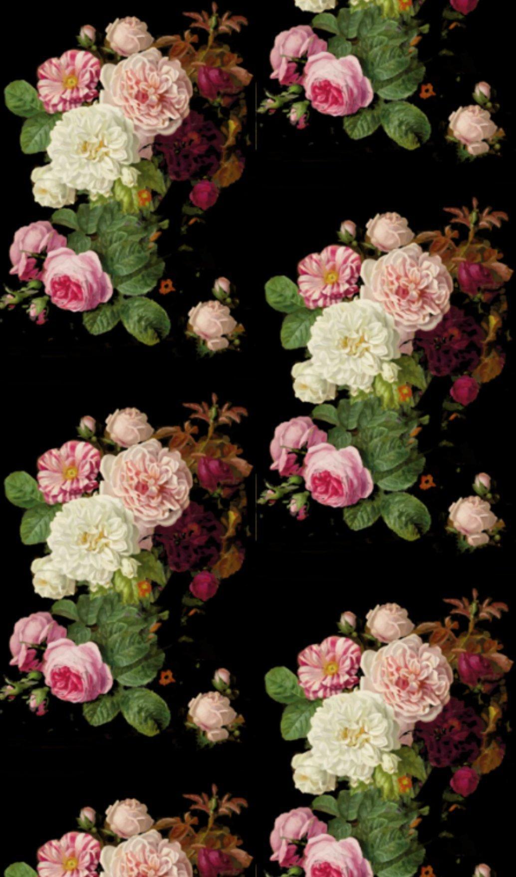 Vintage Floral Wallpapers Wallpaper Cave
