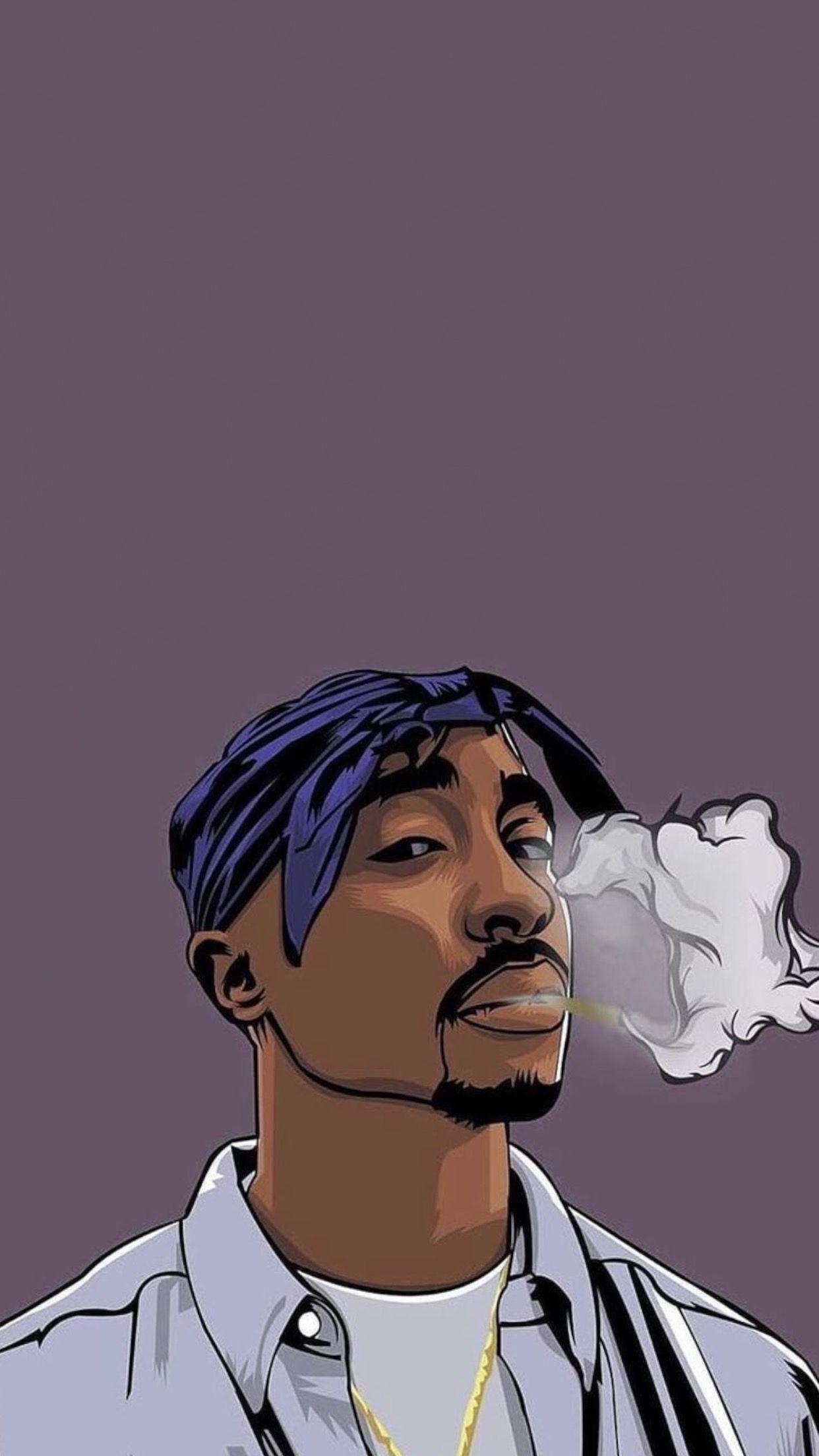 Iphone Hip Hop Artist Cartoon Wallpapers Wallpaper Cave