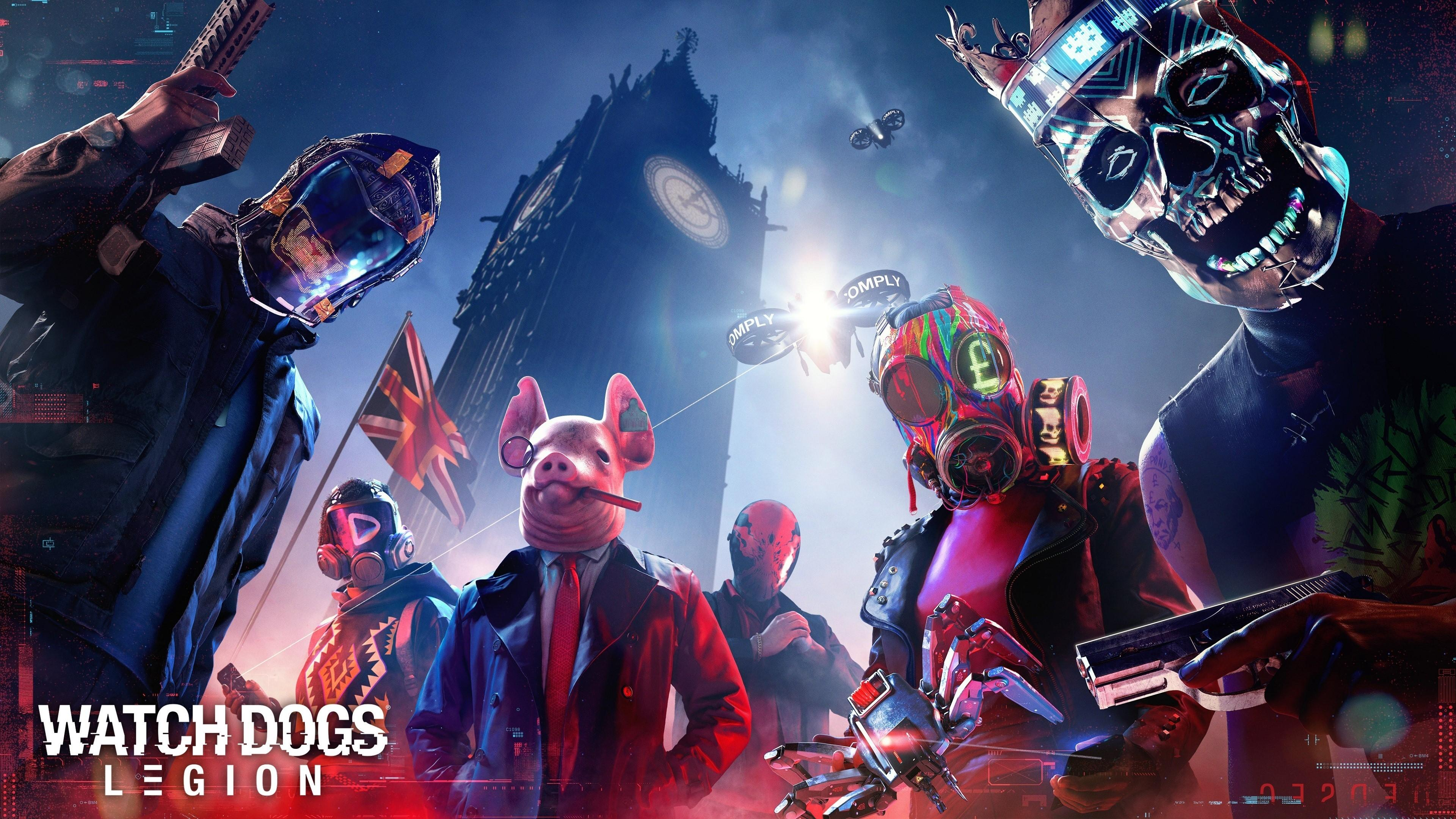 Watch Dogs Legion Game 2020 Wallpapers Wallpaper Cave