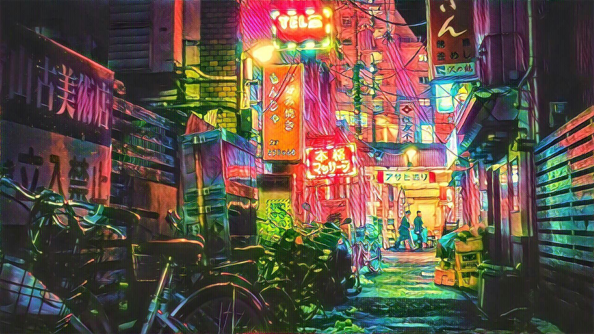Retro Tokyo Wallpapers Wallpaper Cave