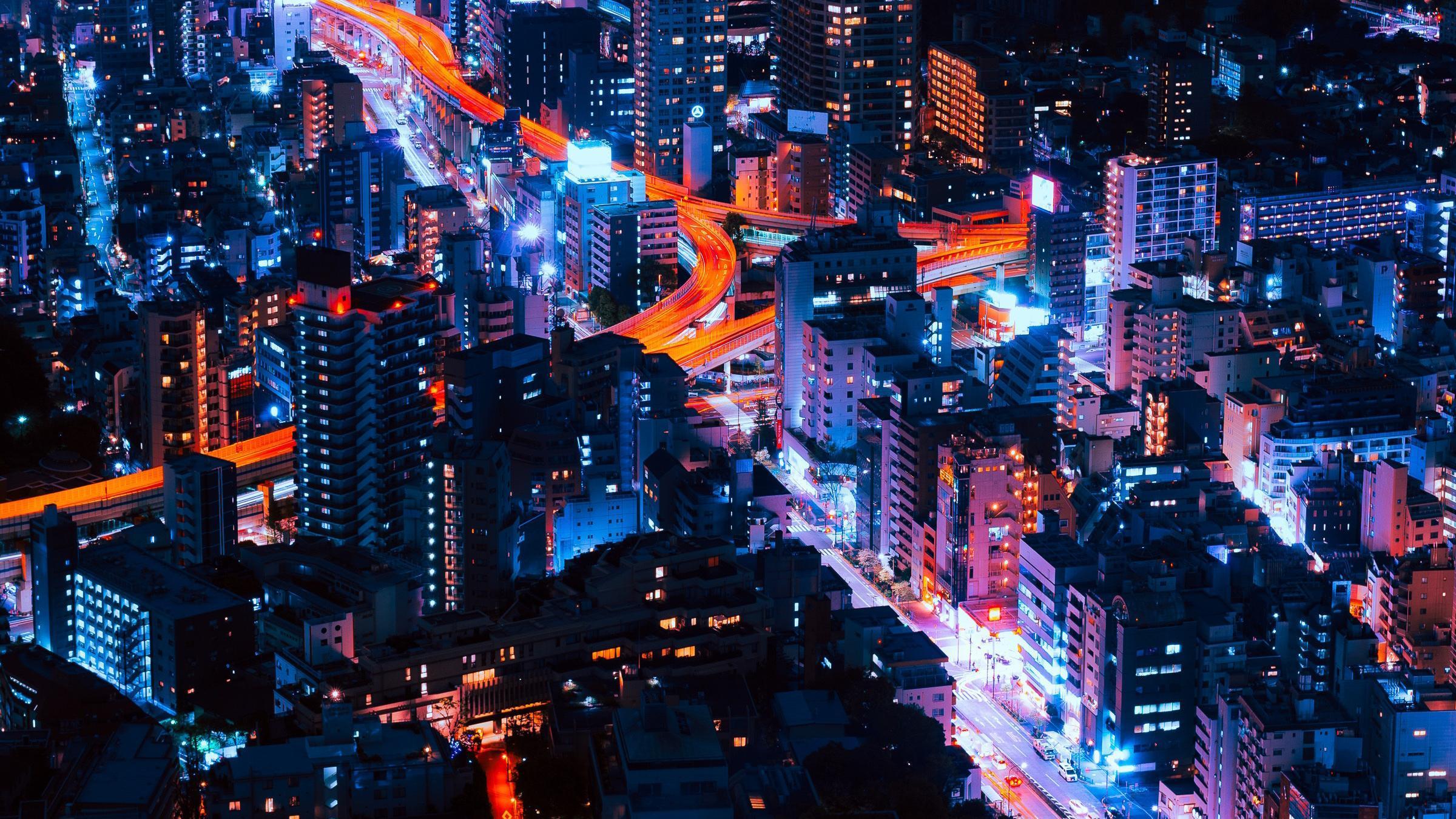 Tokyo Neon Wallpapers Wallpaper Cave