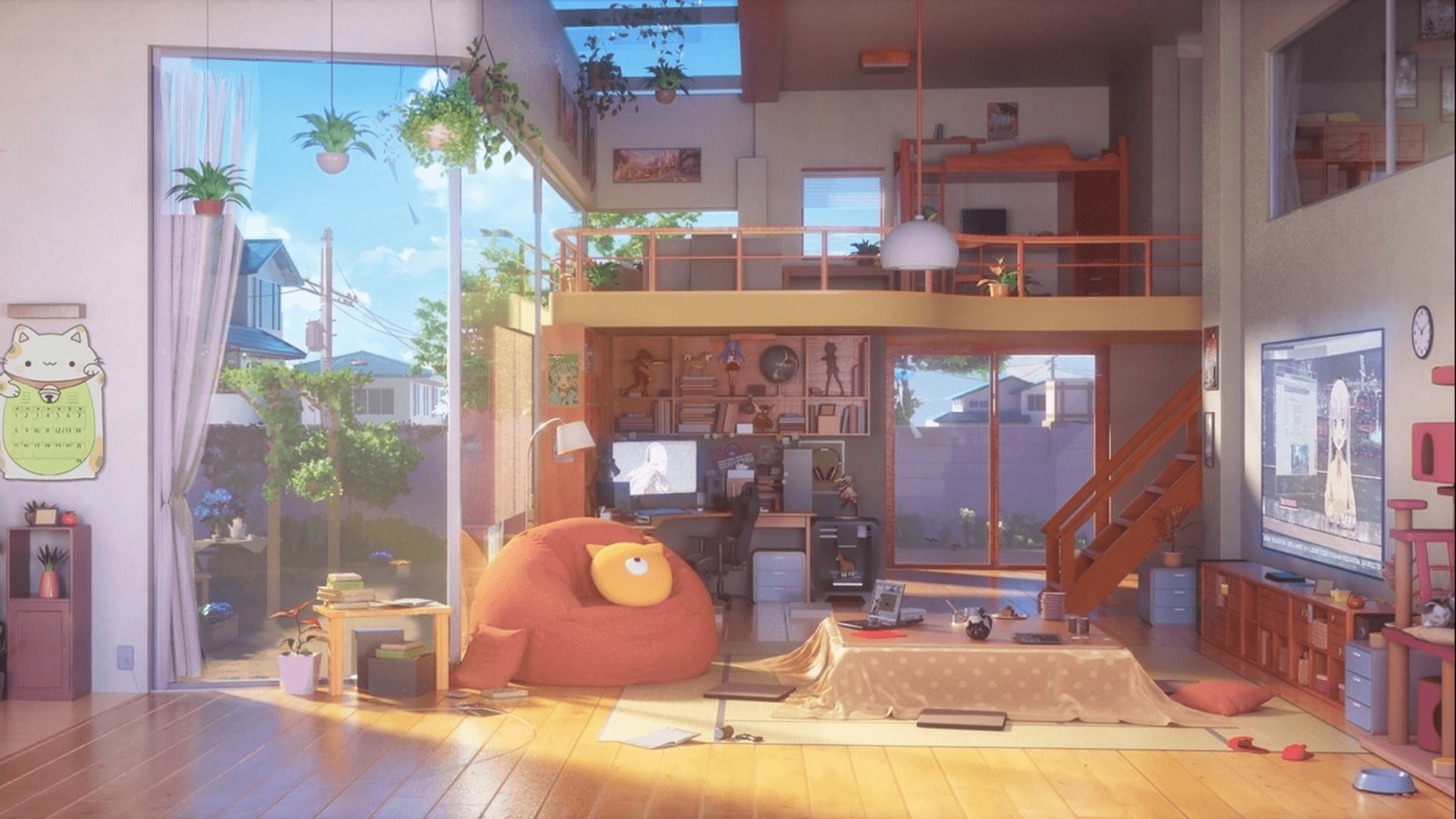 Aesthetic Anime Bedroom Wallpapers Wallpaper Cave